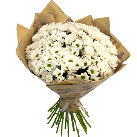 White Chrysanthemum Bouquet 2