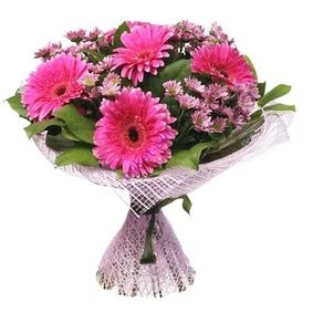 Pink Flowers Bouquet
