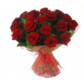17 Red Roses Bouquet
